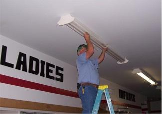 Indoor lighting and electrical repairs in San Angelo, TX